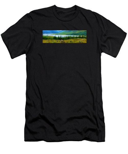 Rock Cairns In Scotland Men's T-Shirt (Athletic Fit)