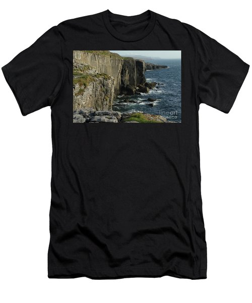 Rock Climbing Burren Men's T-Shirt (Athletic Fit)