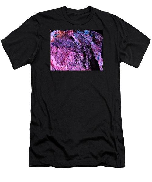 Rock Colors 1 Men's T-Shirt (Slim Fit) by M Diane Bonaparte