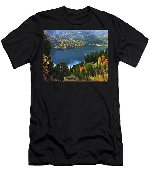Rock Creek Lake In Fall Men's T-Shirt (Athletic Fit)