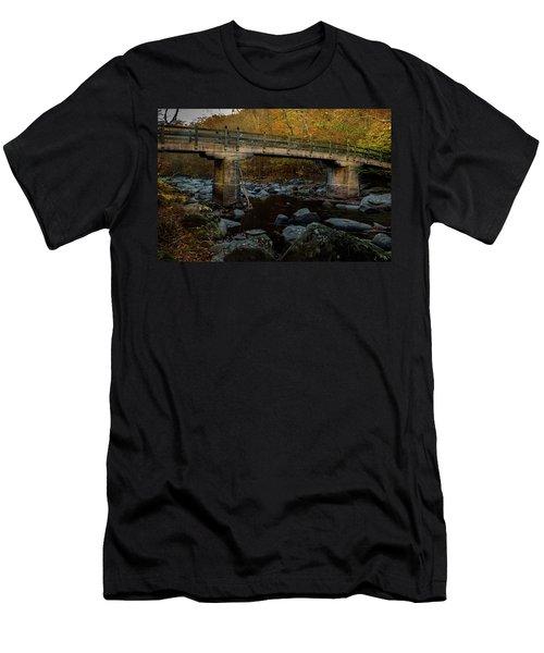 Rock Creek Park Bridge Men's T-Shirt (Athletic Fit)