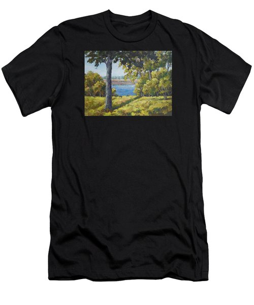 Rock Cut State Park Men's T-Shirt (Athletic Fit)