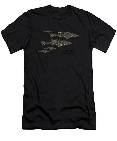 Rock Fish  Men's T-Shirt (Athletic Fit)