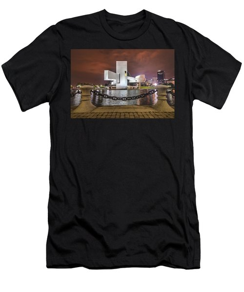 Men's T-Shirt (Slim Fit) featuring the photograph Rock Hall And The North Coast by Brent Durken
