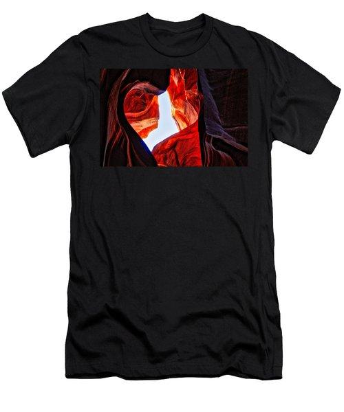 Rock Heart Men's T-Shirt (Athletic Fit)