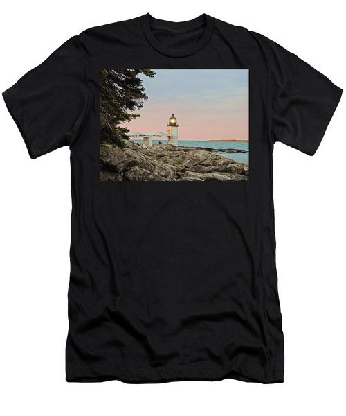 Rock Patterns Men's T-Shirt (Athletic Fit)