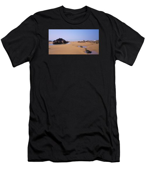 Rock Pools Men's T-Shirt (Athletic Fit)