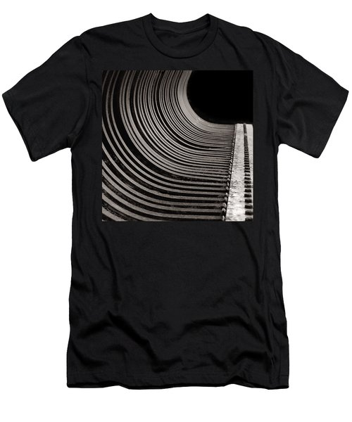 Men's T-Shirt (Slim Fit) featuring the photograph Rock Rake by Susan Capuano