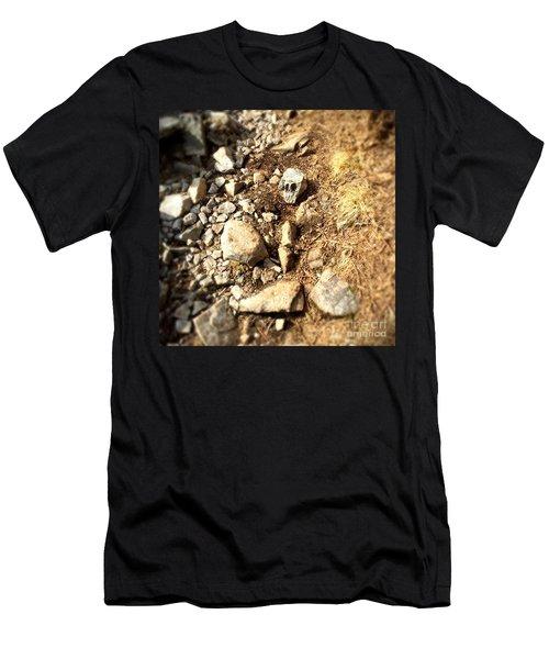 Rock Skull Men's T-Shirt (Athletic Fit)