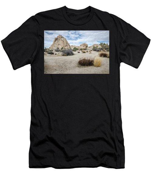 Rock Tower No.2 Men's T-Shirt (Athletic Fit)