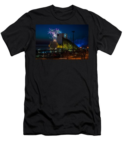 Rocking Fireworks Men's T-Shirt (Athletic Fit)