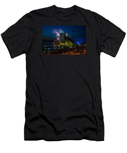 Rocking Fireworks Men's T-Shirt (Athletic Fit)
