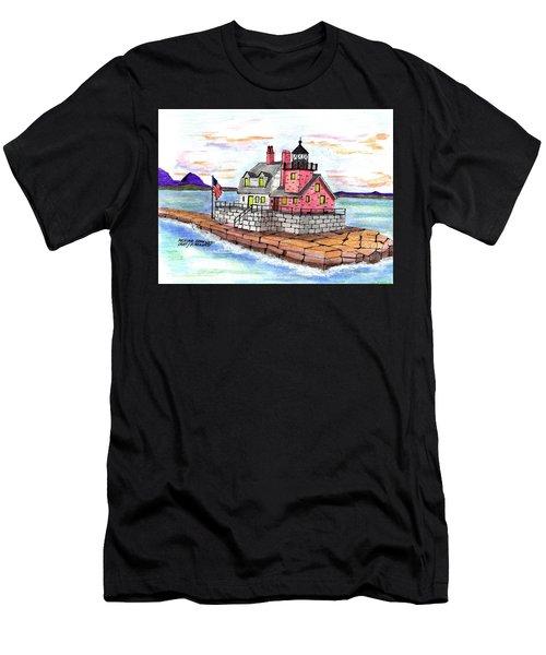 Rockland Breakwater Light Men's T-Shirt (Athletic Fit)