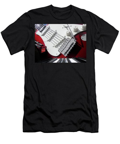 Men's T-Shirt (Slim Fit) featuring the photograph Rock'n Roller Coaster Aerosmith by Juergen Weiss