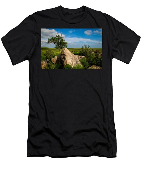 Rocks And Cottonwood 2 Men's T-Shirt (Athletic Fit)