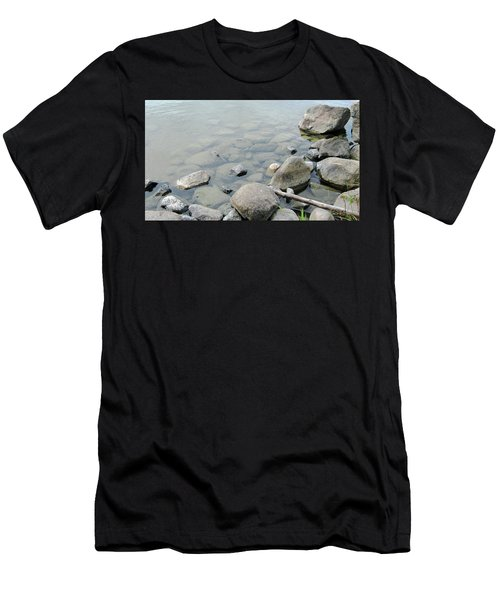 Rocks And Water Men's T-Shirt (Athletic Fit)