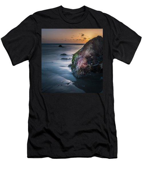 Rocks At Sunset Men's T-Shirt (Athletic Fit)