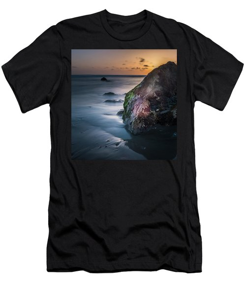 Rocks At Sunset Men's T-Shirt (Athletic Fit)