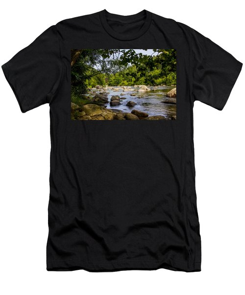 Rocky Broad River Men's T-Shirt (Athletic Fit)