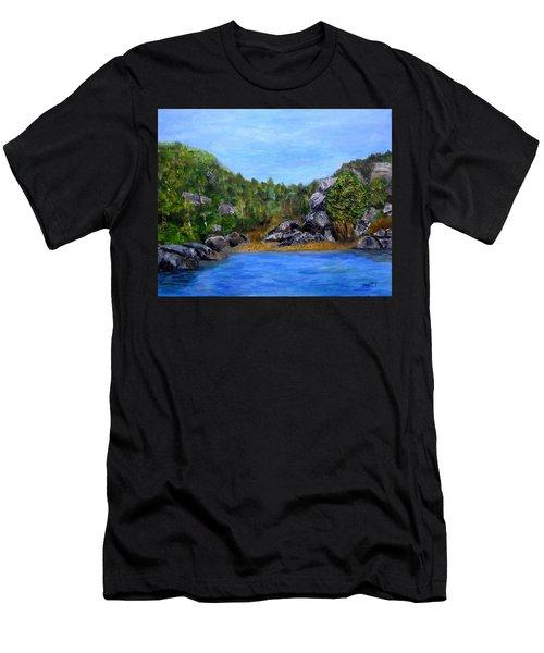 Rocky Cove Men's T-Shirt (Athletic Fit)