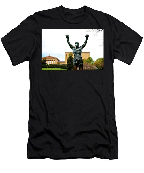 Men's T-Shirt (Slim Fit) featuring the photograph Rocky I by Greg Fortier