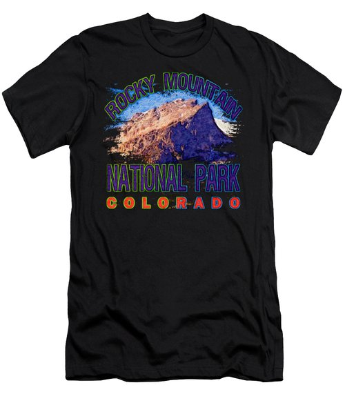 Rocky Mountain National Park Men's T-Shirt (Athletic Fit)