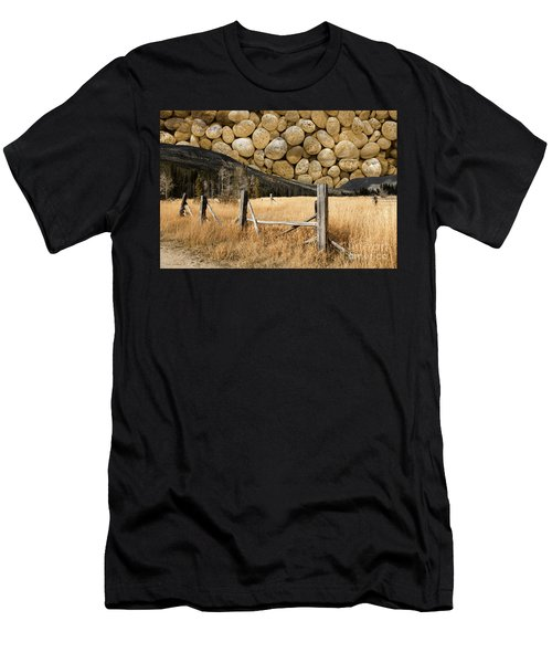 Rocky Mountain Sky Men's T-Shirt (Slim Fit) by John Stephens