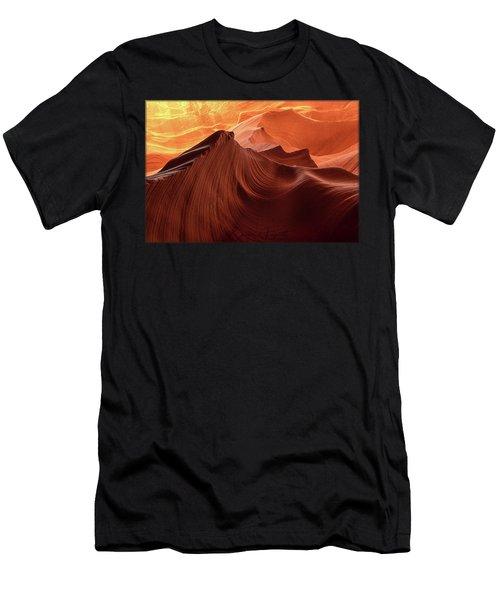 Rocky Mountain Sunrise Men's T-Shirt (Athletic Fit)
