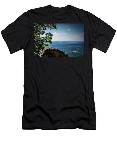 Rocky Perch Men's T-Shirt (Athletic Fit)