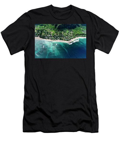 Rocky Point Overview. Men's T-Shirt (Athletic Fit)