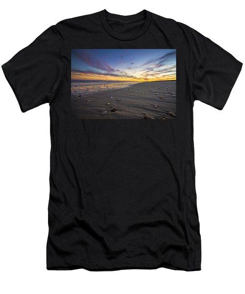 Rocky Roger's Beach Sunset Men's T-Shirt (Athletic Fit)