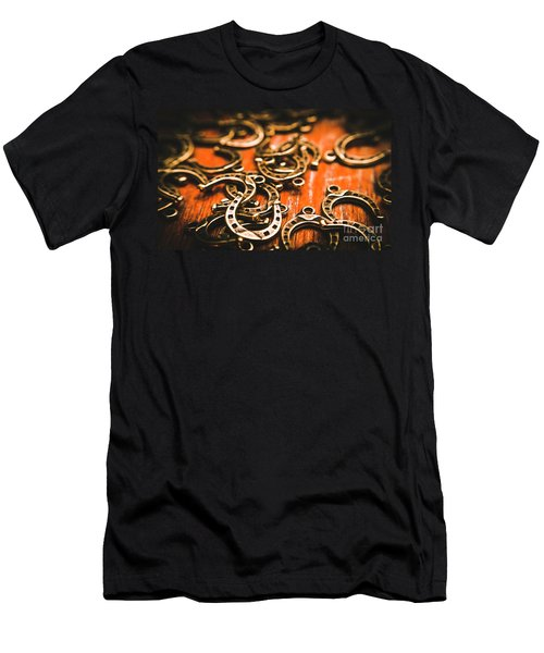 Rodeo Abstract Men's T-Shirt (Athletic Fit)