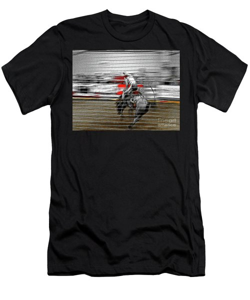 Rodeo Abstract V Men's T-Shirt (Athletic Fit)