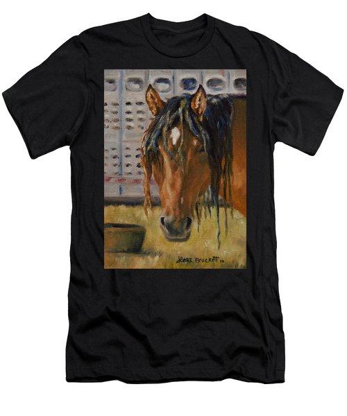 Rodeo Horse Men's T-Shirt (Slim Fit)