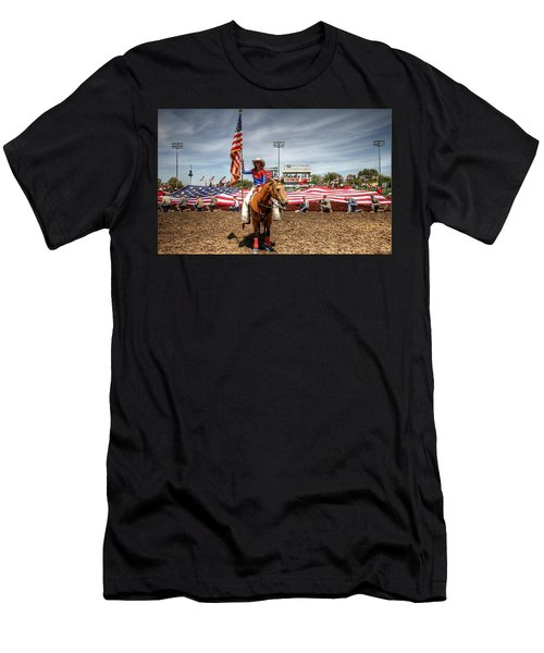 Rodeo Queen Men's T-Shirt (Athletic Fit)