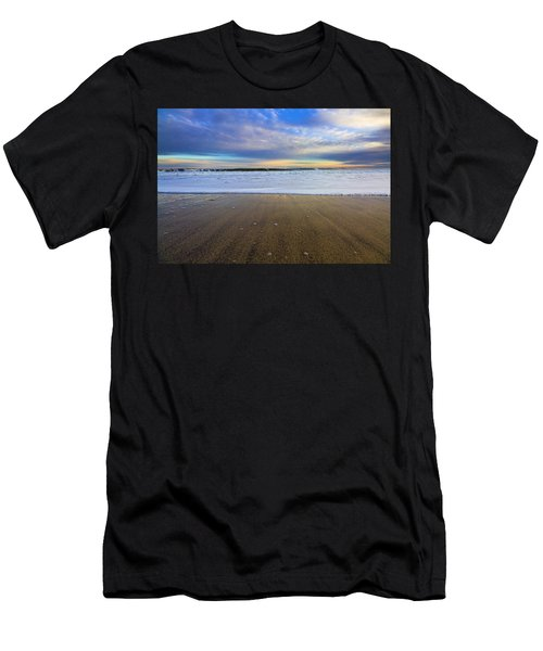 Roger's Beach Shorebreak Men's T-Shirt (Athletic Fit)