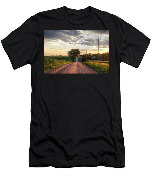 Rolling Down A Country Road Men's T-Shirt (Athletic Fit)