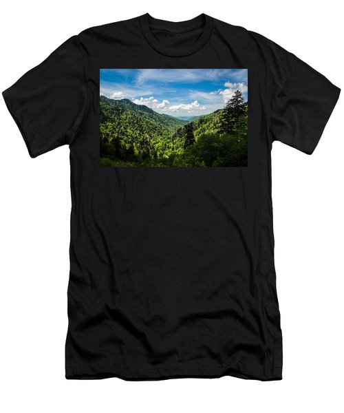 Rolling Mountains Men's T-Shirt (Athletic Fit)