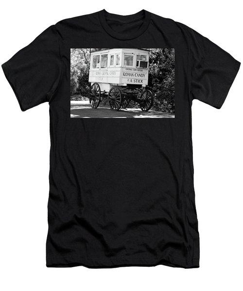 Roman Candy - Bw Men's T-Shirt (Athletic Fit)