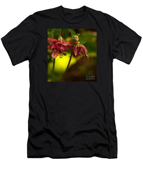 Men's T-Shirt (Athletic Fit) featuring the photograph Romance Through Time - 2 by Linda Shafer