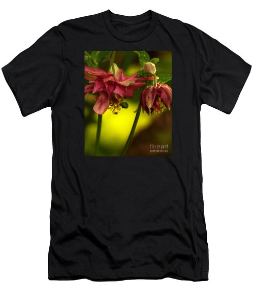 Men's T-Shirt (Athletic Fit) featuring the photograph Romance Through Time - 3 by Linda Shafer