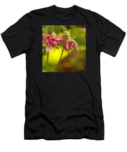 Men's T-Shirt (Athletic Fit) featuring the photograph Romance Through Time by Linda Shafer