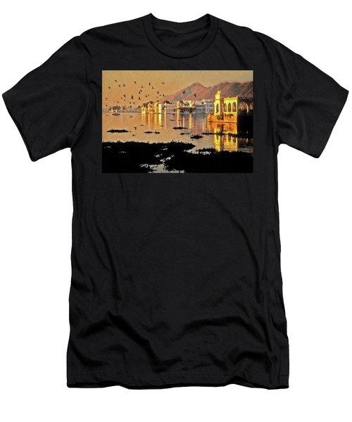 Romantic Udaipur Men's T-Shirt (Athletic Fit)