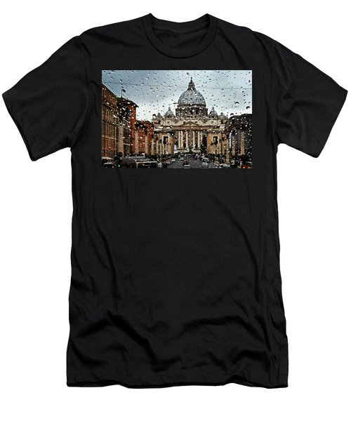 Rome Italy Men's T-Shirt (Athletic Fit)