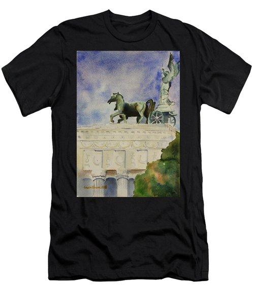 Rome Souvenir Men's T-Shirt (Athletic Fit)