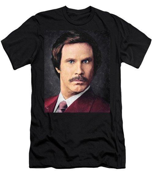 Ron Burgundy Men's T-Shirt (Athletic Fit)