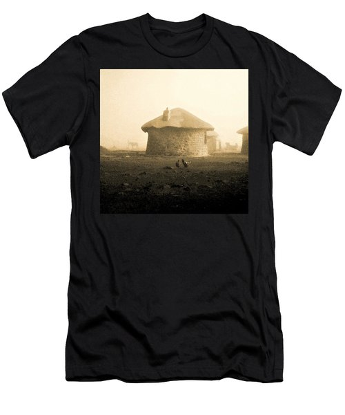 Rondavel In Lesotho Men's T-Shirt (Athletic Fit)