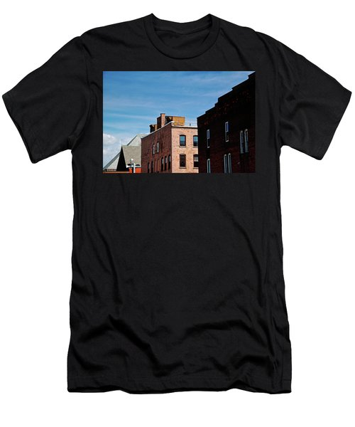 Rooflines No. 2 Men's T-Shirt (Athletic Fit)