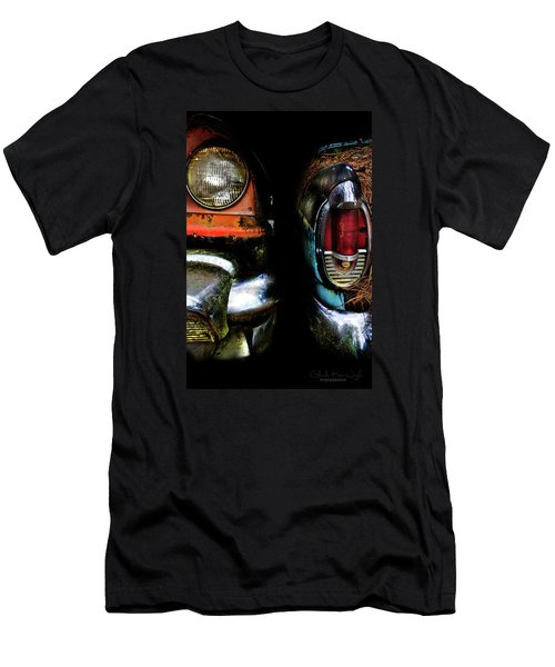 Men's T-Shirt (Athletic Fit) featuring the photograph Roommates  by Glenda Wright