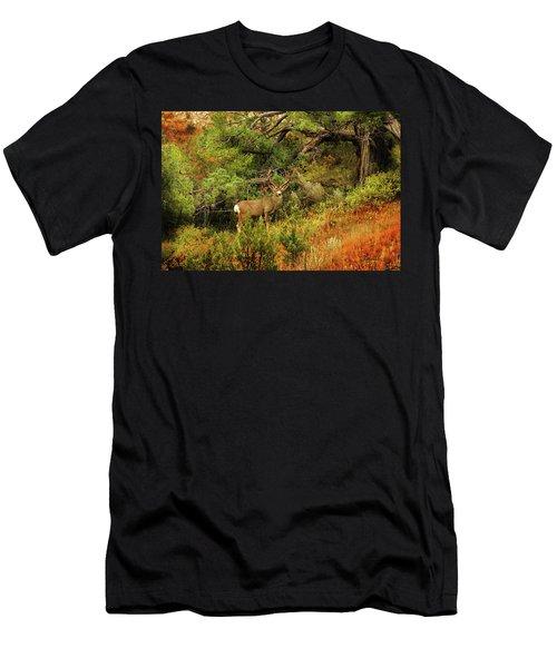 Roosevelt Deer Men's T-Shirt (Athletic Fit)